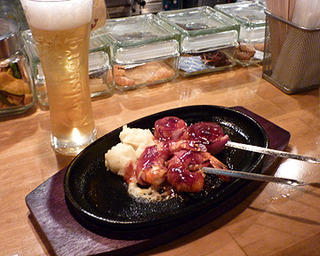 串 GRILL エビ&ホタテ