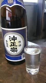 日本酒(沖正宗)