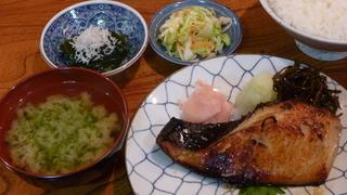 銀鱈西京焼定食