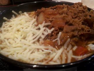 牛丼・チーズカレー