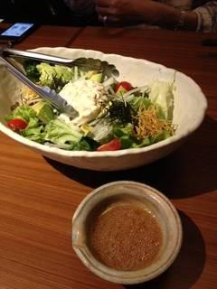 有機野菜を使った和民サラダ