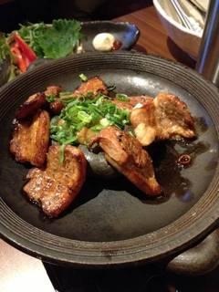 野菜たっぷり国産豚のサムギョプサル
