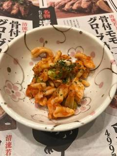 マカロニトマト味(お通し)