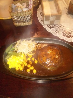 ハンバーグ定食