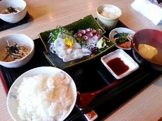 魚刺身定食