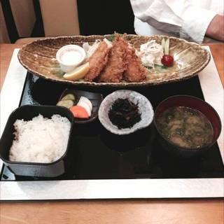 小田原港わらべ自慢のアジフライ定食