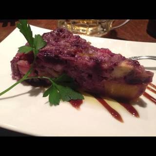 紫芋とサツマイモのキッシュ