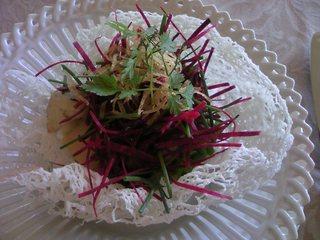 海の幸のヴェトナム風サラダ