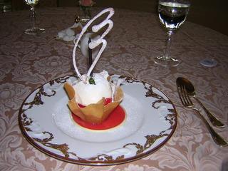 イチゴとマスカルポーネチーズ