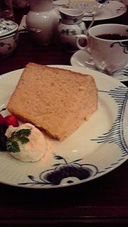 和三盆シフォンケーキ