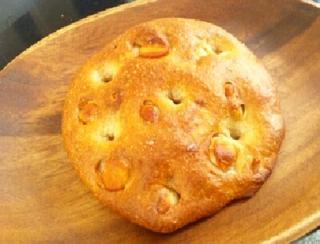 塩とマカダミアのパン