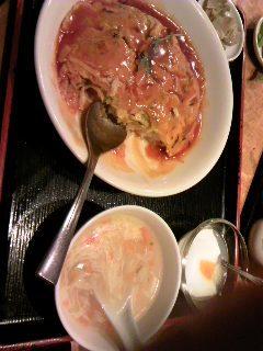 カニ玉定食