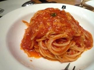 フレッシュトマトとバジルのスパゲティー二