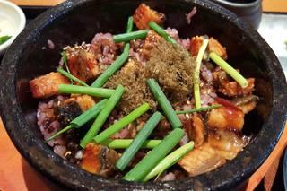 六穀米のうなぎ石焼飯