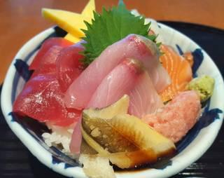 海鮮丼 五種盛り