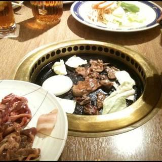 3種ラムジンギスカン食べ放題
