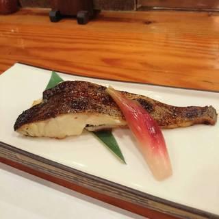 石垣鯛の西京焼き
