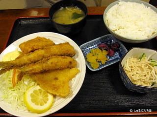 近海フライ定食