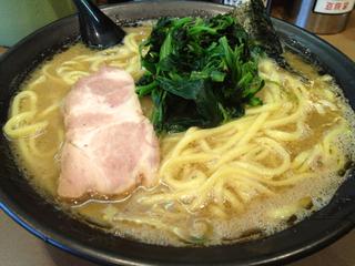 豚骨醤油 太麺