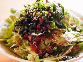 和風海藻サラダ 本山葵(ほんわさび)ドレッシング