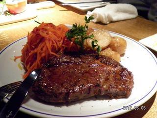 「熟成牛」のステーキグリル