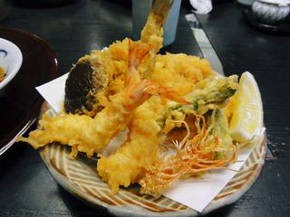 天ぷら膳 箱根