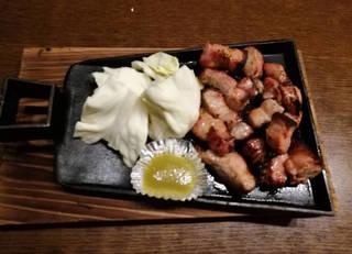 地鶏の鉄板焼き