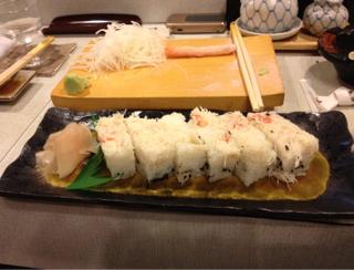 カニ押し寿司