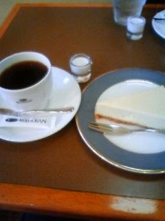 珈琲館チーズケーキ