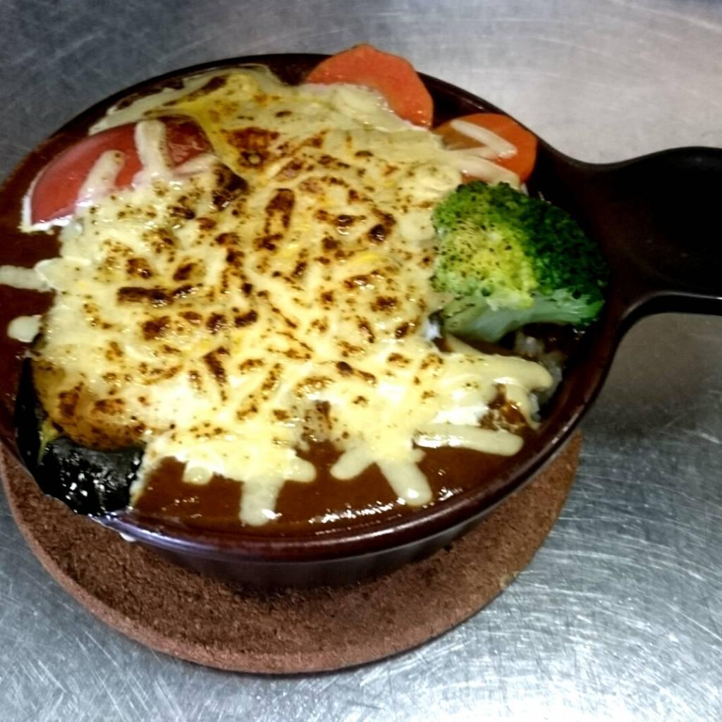 特製焼きチーズカレー