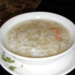 蟹肉入りふかひれとろみスープ