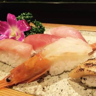 大将のおすすめ寿司