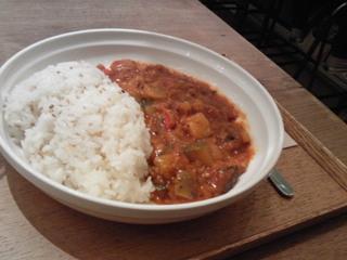 夏野菜のラタトゥイユカレー
