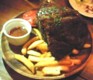 1キロの塊ローストビーフ
