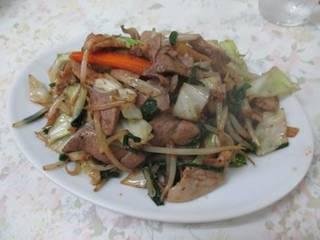 レバニラ野菜炒め