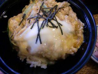 京野菜の蕎麦と卵とじ定食