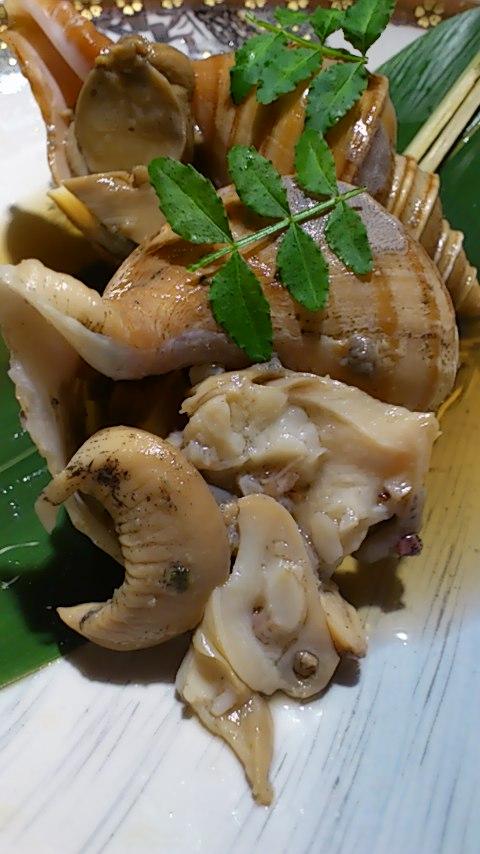 つぶ貝の旨煮