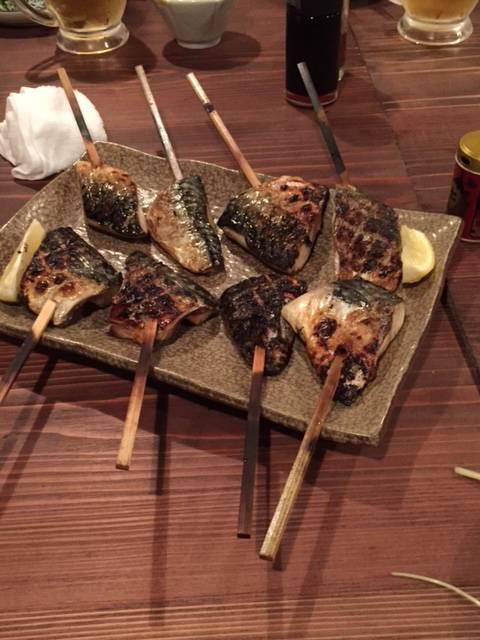 鯖の焼き物
