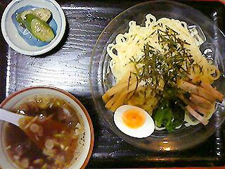 温汁 つけ麺(しょうゆ)