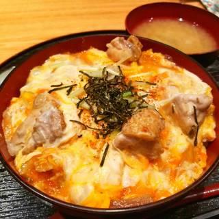 筑波地鶏の特製親子丼