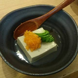 かに味噌豆腐