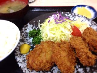 Aヒレ定食