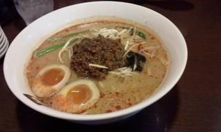 味玉担担麺