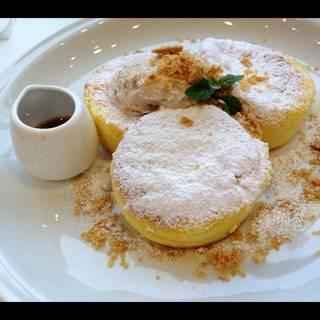 ふわふわスフレパンケーキ