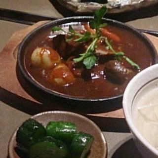 牛たんシチュー定食
