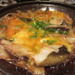 アナゴの柳川鍋