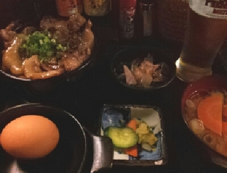富士桜ポーク丼W定食