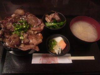 富士桜ポークW定食