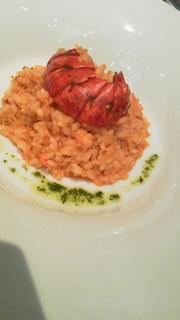 オマール海老のトマトソースリゾット