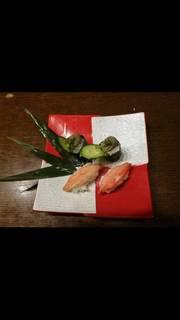 絶品カニの握り寿司